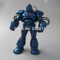 Free Shipping Anime Game Blue Iron Man PVC Action Figure Toys Chritmas Gift New 19cm