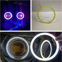 [ Diameter 100 MM ] Brightness LED Daytime Running Lights Angel Eyes Rings / Cob Led Devil Eyes Fog Aperture