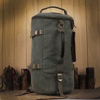 2014 Fashion Men Duffle Bag Casual Bucket Bag Luxury Canvas Men's Travel Bag Uniquen Vintage Men Luggage Bags Free Shipping