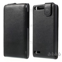 Free shipping  Vertical Leather Magnetic Case for Huawei Ascend G6 / Ascend P6 Mini