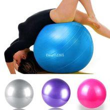 55cm  Swiss Yoga Home Gym Exercise Pilates Equipment Fitness Ball Pump 4 Colors(China (Mainland))