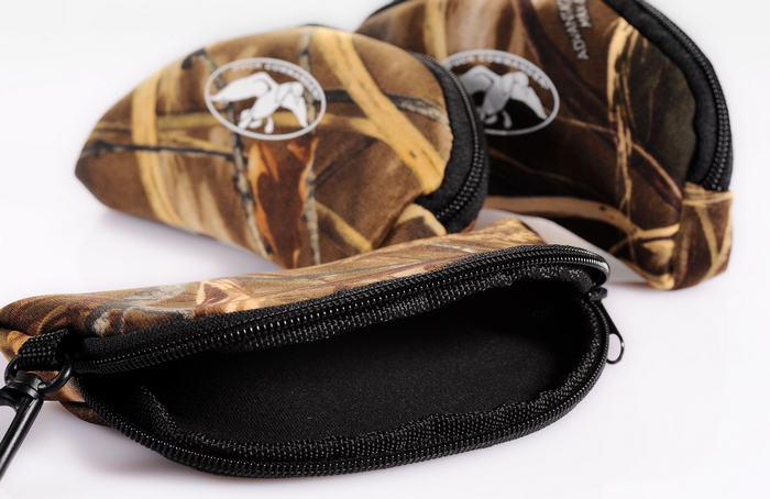 DUCK COMMANDER Soft Camouflage Glasses Bag Sunglasses Case Neoprene composite Free Shipping(China (Mainland))
