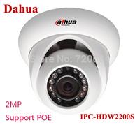 Dahua IPC-HDW2200S IP Camera 2MP 1080P Infrared Network Camera Support POE  Waterproof  CCTV Camera