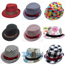 2014 Fashion Jazz Toddler Kids Baby Boy Girl Cap Cool Photography Fedora Hat Top For Free Shipping(China (Mainland))