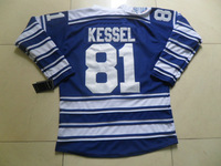 Authentic Phil Kessel Jersey #81 Blue 2014 Winter Classic Embroidery Hockey Clothing Factory Outlet New Material T-Shirt NH-TM