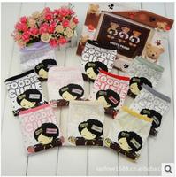 women shorts panties girl cute doll carton print cotton briefs multi color lady underwear  5pcs/lot , free shipping