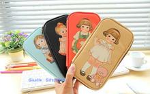 Super Kawaii Baby & DOLL 21CM PU School Kids Pen Pencil BAG Case ; Women Cosmetics Purse BAG & Wallet Coin Pouch BAG Case(China (Mainland))