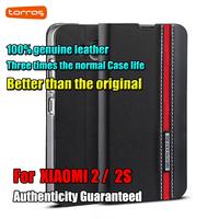 New arrival Genuine Leather Comprehensive case for xiaomi 2 mi2 m2 2S New design for XIAOMI M2 MI2 case cover free shipping