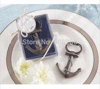 """100pcs/lot Wholesale Unique 2014""""Nautical"""" Anchor Bottle opener Festive Supplies Wedding Party Favors"""