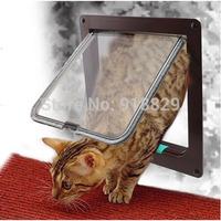 Brand New Lockable Cat Flap Door Kitten Dog Pet Lock Heavy Duty Suitable For Any Wall or Door  Free Shipping