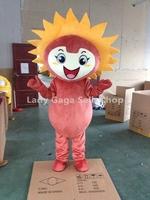 Frozen costume Honest Sunflower Mascot Costume Cartoon Character Costumes Fancy Dress Suit Free Shipping