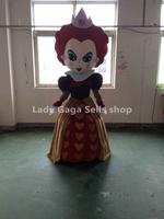 Frozen costume empress Mascot Costume Cartoon Character Costumes Fancy Dress Suit Free Shipping