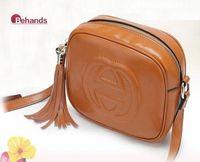 2014 Hot Sell oil wax Leather Handbags Women Tassel Bags Fashion Cross-body Hobo Famous Brand Shoulder Bag BH166 Free Shipping