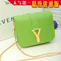 Vintage Small cross-body bags mini women's Y handbag chains shoulder female 2014 all-match chain portable small evening bag