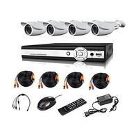 4CH HD CVI DVR kits 720P High Resolution