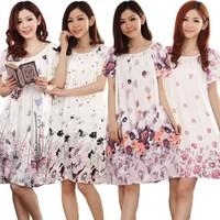 Fashion pijama women nightgown Cheap Sales sleepwear casual robe