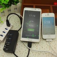 Atoah usb charge hub external keyboard mouse usb flash drive interface splitter 5