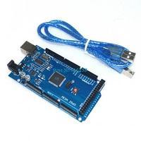 Freeshipping ! 10sets/lot Funduino Mega 2560 R3 Mega2560 REV3 ATmega2560-16AU Board + USB Cable compatible for arduino