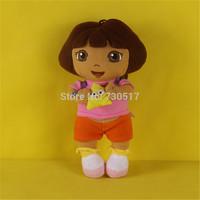 """30cm(12"""") High Quality Dora Plush Stuffed Dolls Baby Dora Bonecas For Girls Dora Aventureira Dora The Explorer Brinquedos KF492"""