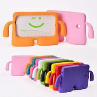 3D Cute Fun Cartoon Kids Friendly EVA Soft Thick Foam Cover Protective Case Stand Holder for Samsung Galaxy Tab 3 7.0 P3200 T210