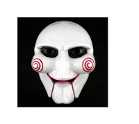 Free  Shipping Masquerade movie theme April Fool's Day Halloween saw mask Chainsaw Massacre surface