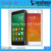 """Xiaomi Mi4 Quad Core Xiaomi Mi 4 M4 Mobile Phone 5"""" Qualcomm Snapdragon 801 1920X1080P JDI 3GB RAM 16GB 64GB ROM 8MP 13MP IR GPS"""