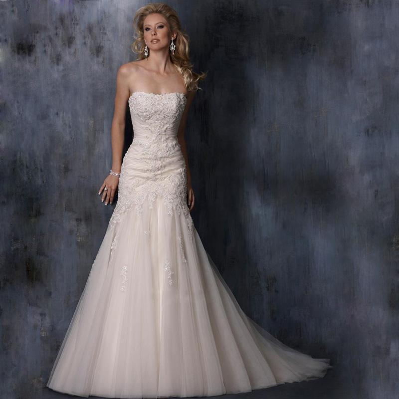Свадебное платье Brand new vestido noiva свадебное платье foryou bridal casamento v vestido noiva longa fw9328