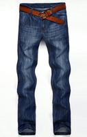 Autumn famous brand true jeans men straight jeans male business casual denim trousers men's 8716