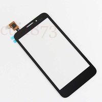 Touch Screen Digitizer Glass Lens For Alcatel One Touch Fierce 7024W 7025w Black