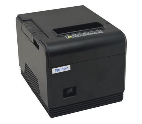 pos printer High quality 80mm thermal receipt printer XP-Q200 automatic cutting machine printing speed USB interface 200 mm / s(China (Mainland))