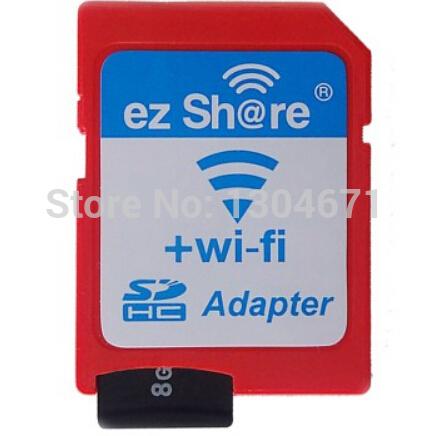 Free shipping ezshare EZ share micro sd adapter wifi wireless 16G 32G memory card TF MicroSD adapter WiFi SD card free ride(China (Mainland))