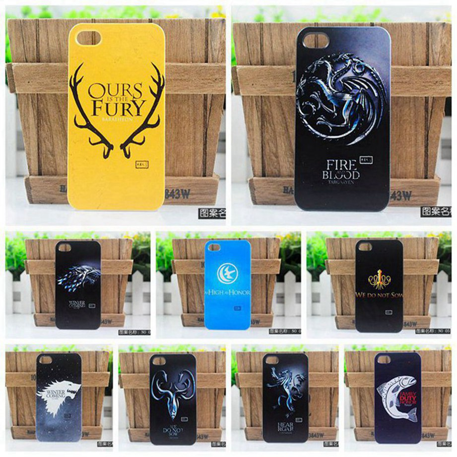 100% New 2014 retro cool Ice And Fire Game of Thrones protective cover case for Sony Xperia M2 S50h(China (Mainland))