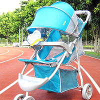 Baby Stroller Foldable Portable Baby Stroller Three wheel baby stroller for travel 2014 New - 2 COLOR CHOICE 0-36 months
