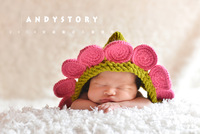 Min.order is $9.9 (mix order) Cute Flowers Toddler Baby Kids Hat Photography Photo Prop HANDMADE, Free & Drop Shipping