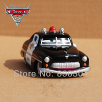 100% Brand New Original 1/55 Scale Pixar Cars 2 Toys Radiator Springs Sheriff Diecast Metal Car Toy For Children -Free Shipping