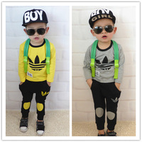 Wholesale 2014 new boy suit (jacket+pants). Children's suit. Children's outfit. Children's clothes, boy set,children's clothing,