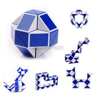 Fashion New Mini Magic Snake Pony Ball Shape Toy Game 3D Novelty Cube Puzzle Twist Puzzle Toy BPV021