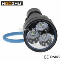 HOOZHU NEW Diving lamps  Waterproof 100m Max 3000 lumens Diving Light U23
