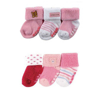 3pair/lot Anti Slip Baby Socks Baby Boys Girls Socks Toddler Socks Baby Wear