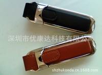 High speed 8GB 16GB 32GB 64GB  usb 2.0 pendrive leather usb flash drive pen drive free shipping -style 8