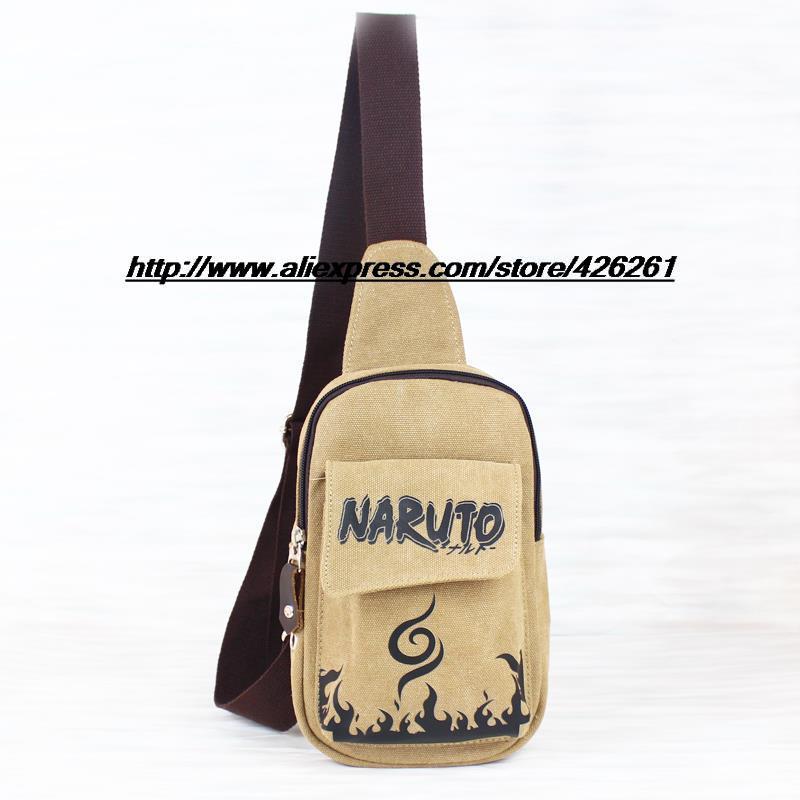 Animation bag Naruto Chest Pack chest bag Messenger bag shoulder bag(China (Mainland))