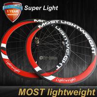 super light weight 50mm 700C carbon bicycle wheels road bike Racing wheelset