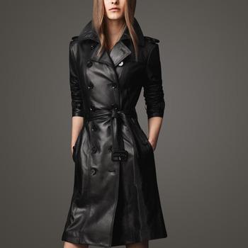 2014 Spring And Autumn European Женщины Slim Leather Jacket Кожа PU является высокотехнологичным ...