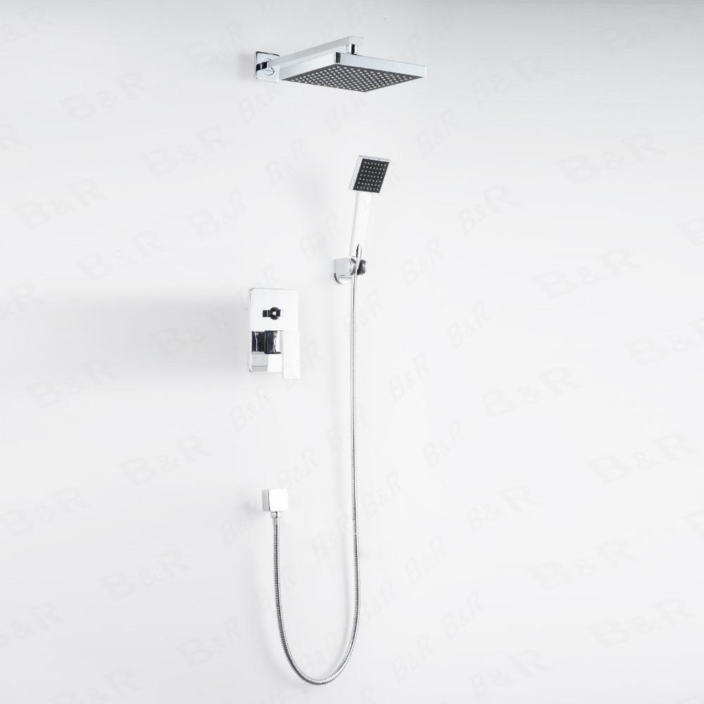 28 bath shower sets blue and brown bathroom bath shower bath shower sets aliexpress com buy concealed shower sets wall mounted