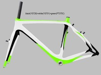 DENGFU Top Quality EN Standard Carbon CycleCross Frames FM058
