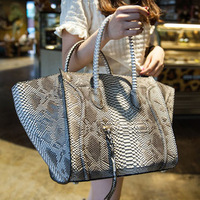 new 2014 solid color bag hot selling women classic package bat wings smiling face bags ladies bag smiley tote Serpentine bag