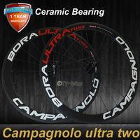 Ceramic Bearing HUB 50mm bicycle wheels 700c carbon fiber road bike racing wheelset