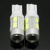 2PCS/LOT T10 LED 5630/5730 10 SMD LED Car Light Source DC 12V