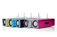 NiZHi TT-2B  Mini Speaker Digital Music MP3 Player USB SD/TF Card Player  FM Radio computer  speaker CE,ROHS Certification