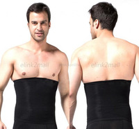 Mens Slimming Tummy Belly Waist Girdle Body Shaper Cincher Corset Bodysuit Underwear Shapewear New Freeshipping